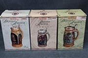 Budweiser Discover America Series Steins - Lot of 3